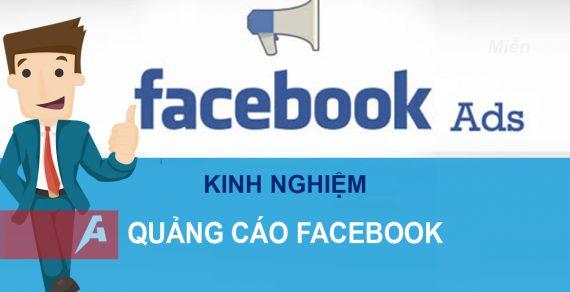 Kinh nghiệm chạy quảng cáo trên Facebook hiệu quả